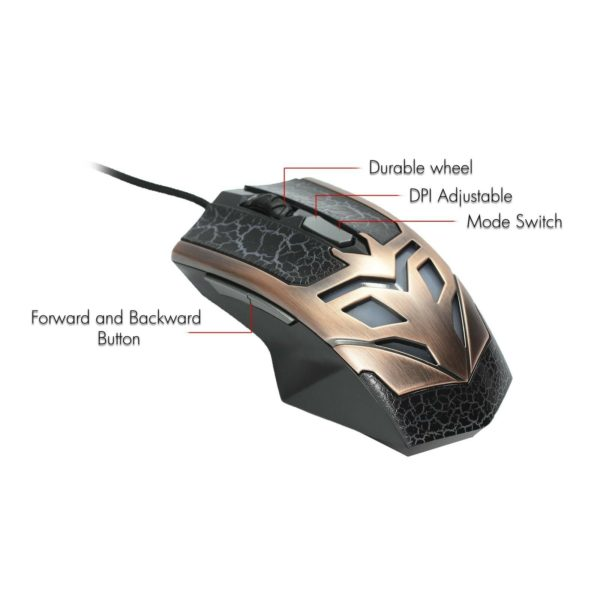 Frisby FM-G420K LED Gaming Mouse